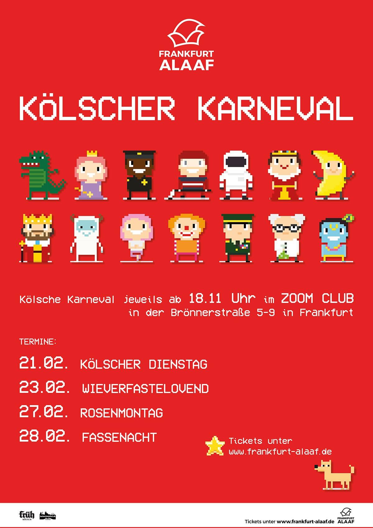 Karneval on Frankfurt